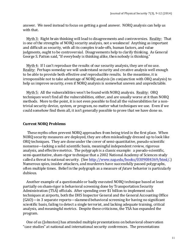 Science Fair Essay The Presentations  Thesis For Argumentative Essay Examples also High School Sample Essay Journal Of Physical Security  High School Essay