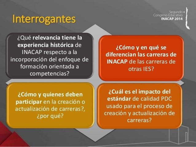 Congreso Educativo INACAP 2014 - Jessica Püschell, Claudia Yañez Slide 3