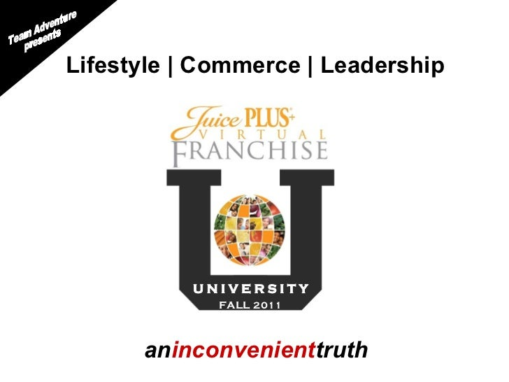 an inconvenient truth Team Adventure presents Lifestyle | Commerce | Leadership