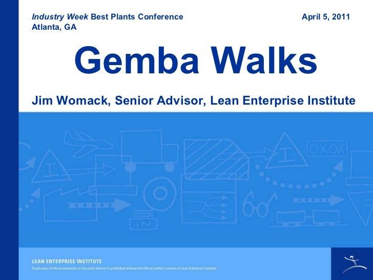 Taking a Gemba Walk