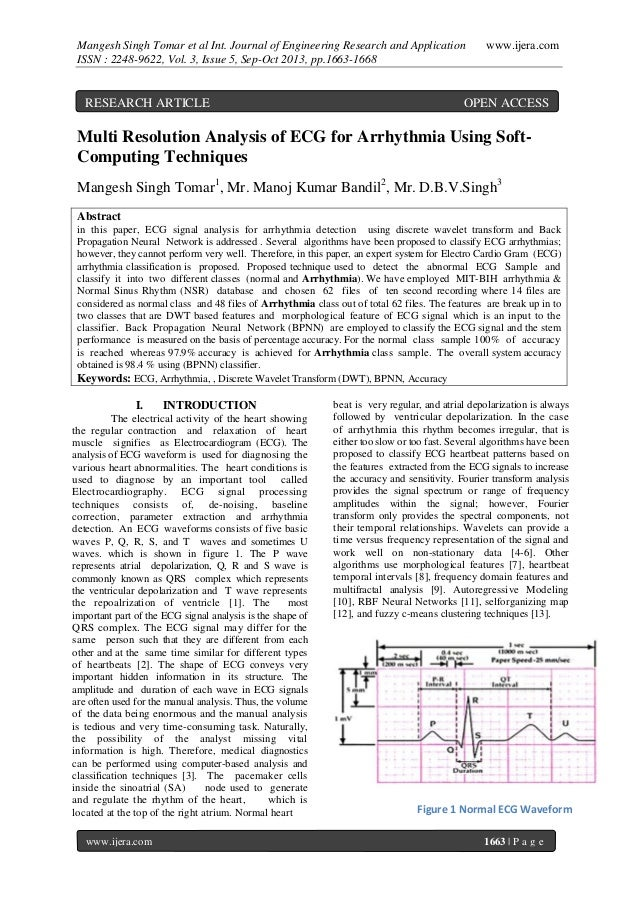 Mangesh Singh Tomar et al Int. Journal of Engineering Research and Application ISSN : 2248-9622, Vol. 3, Issue 5, Sep-Oct ...
