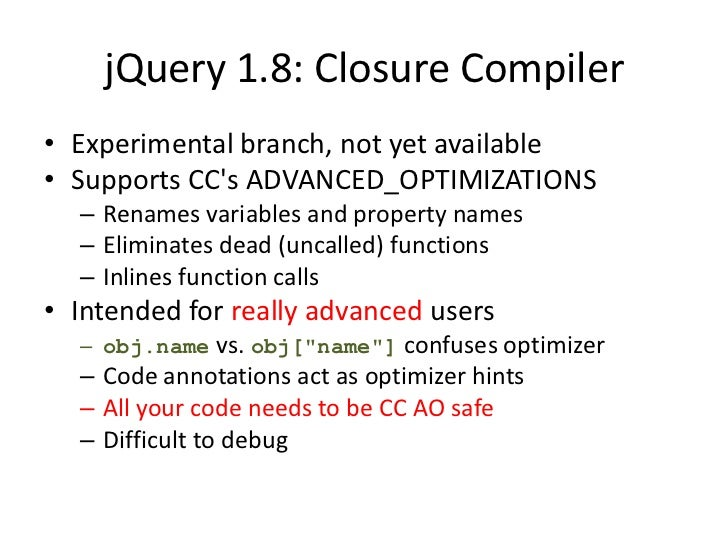The Future of jQuery