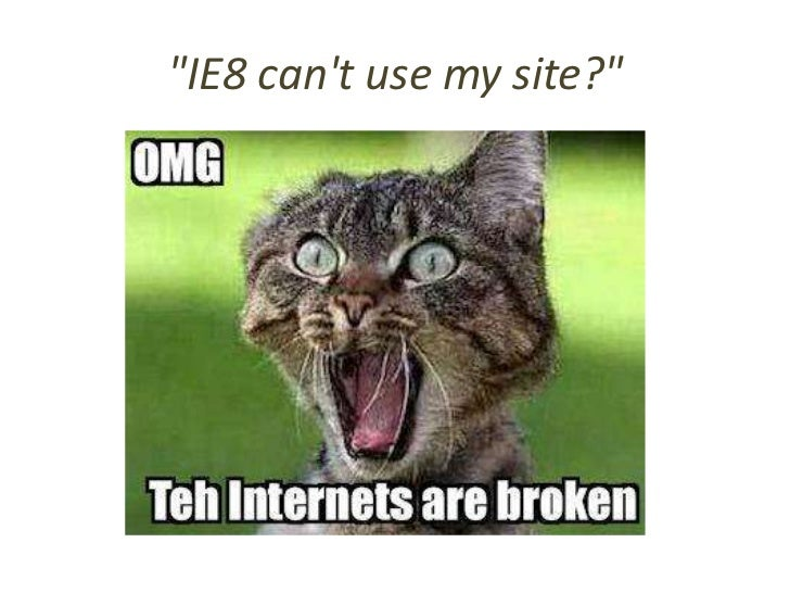 Breaking the Web?• jQuery Core team will support two versions  – Version 1.9 works with IE 6/7/8  – Version 2.0 does not  ...