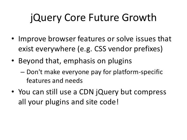 jQuery Conference 2012 keynote
