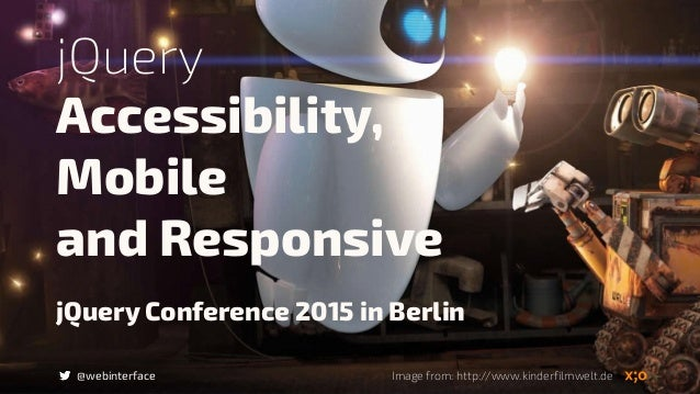 jQuery Conference 2015 in Berlin Accessibility, 