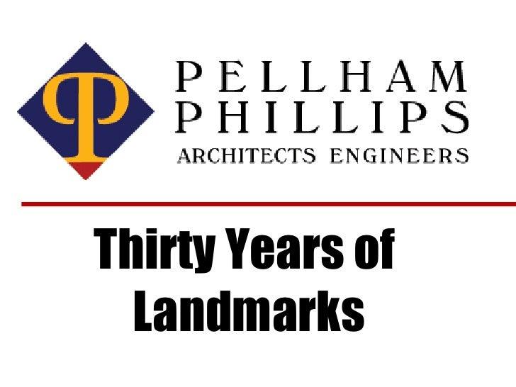 Thirty Years of  Landmarks