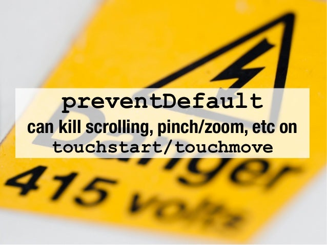 Getting touchy - Introduction to touch (and pointer) events