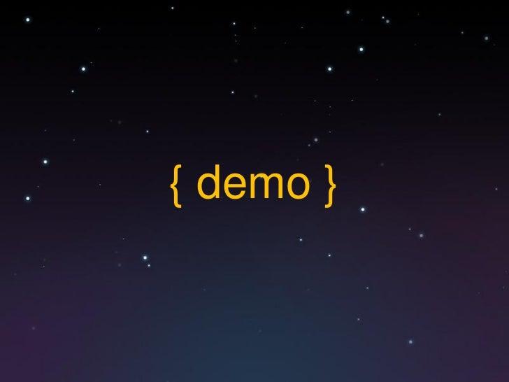 { demo }