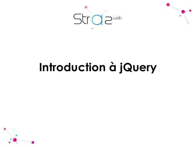Introduction à jQuery