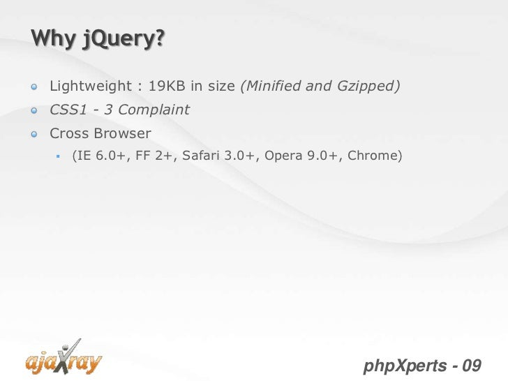 jQuery from the very beginning Slide 3