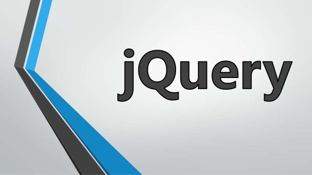 What is jQuery? jQuery is a fast, small, and feature-rich JavaScript library. It makes things like HTML document traversal...
