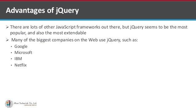 jQuery for web development