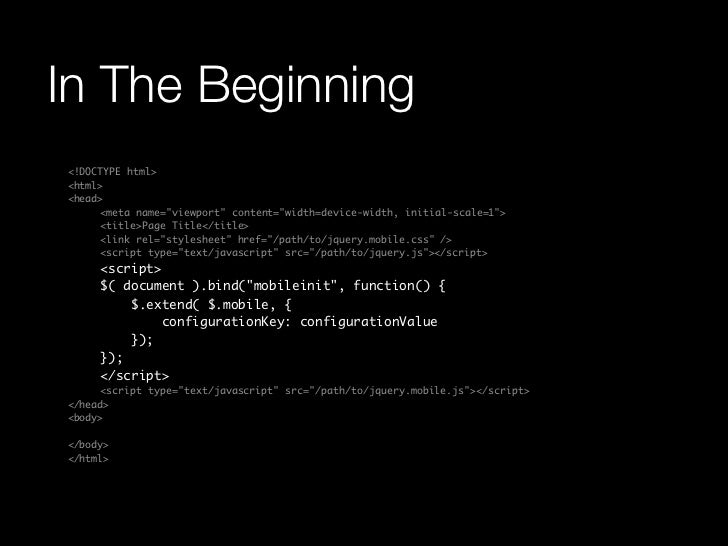 """In The Beginning<!DOCTYPE html><html><head>    <meta name=""""viewport"""" content=""""width=device-width, initial-scale=1"""">    <..."""