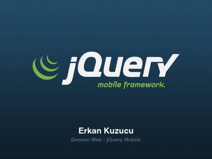 Inhoud• Waarom mobiel?• Wat is een web-app?• jQuery Mobile   – Features   – UI Componenten   – Demo's   – Inspiratie & Docs