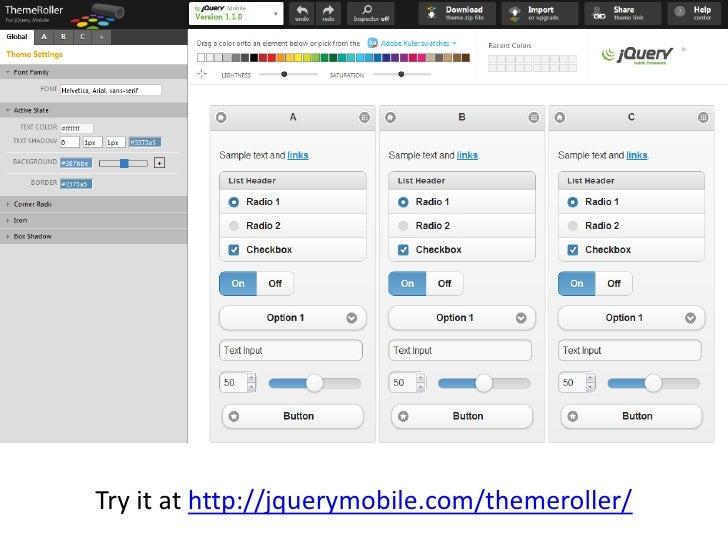 Building a Simple Mobile-optimized Web App Using the jQuery Mobile Fr…