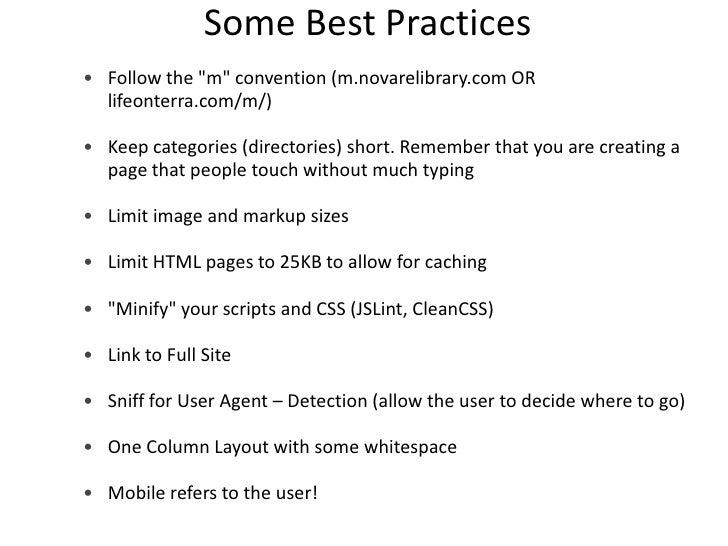 Testing and validation      Test Page Speed in Firebug                     http://getfirebug.com/