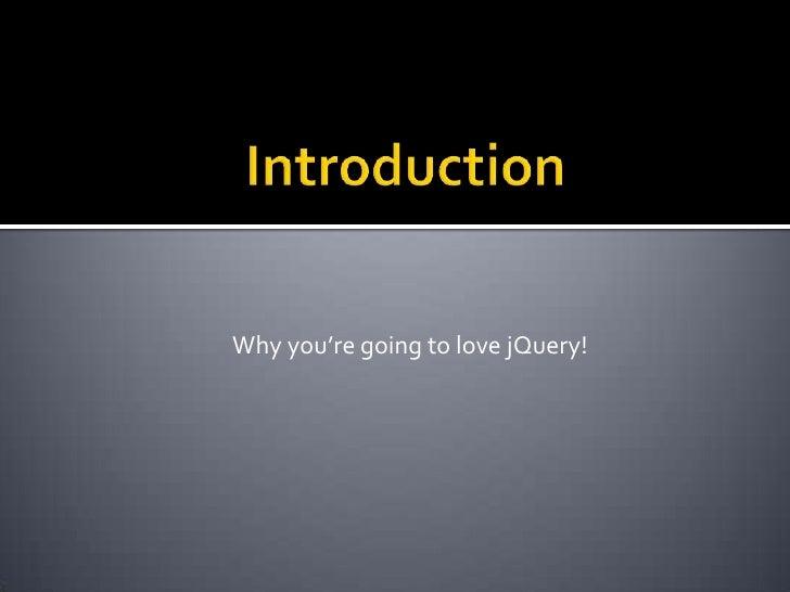 J Query Presentation Slide 2