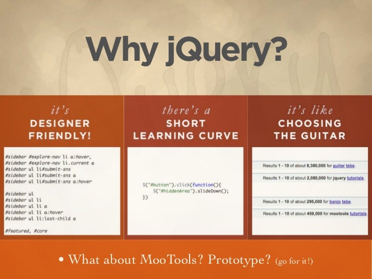 Using jQuery to Extend CSS Slide 2