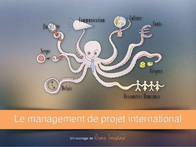Le management de projet international Un ouvrage de