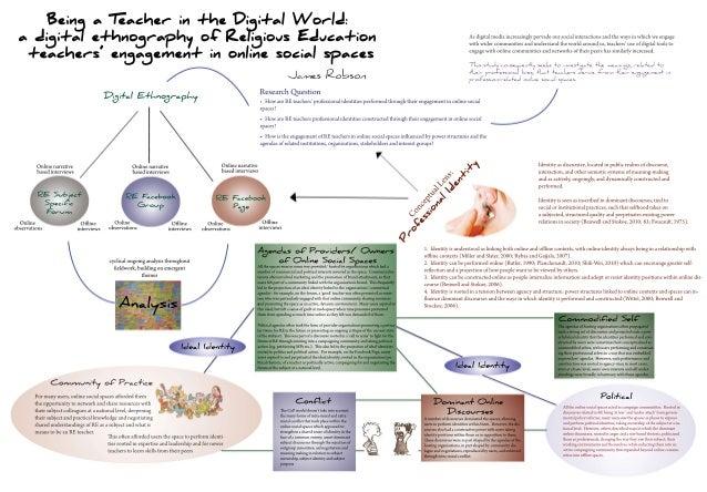 Beinga Teacher intheDigitalW orld: a digitalethnographyofReligiousEducation teachers'engagement inonlinesocialspaces James...