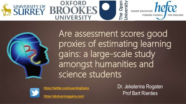 Are assessment scores good proxies of estimating learning gains: a large-scale study amongst humanities and science studen...