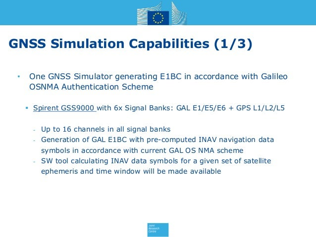 Jrc gnss-testing-facilities