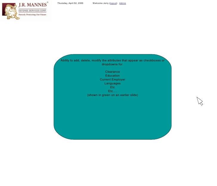 Resume & Applicant Profile Management Application