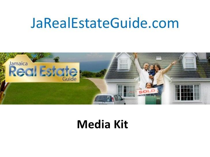 JaRealEstateGuide.com      Media Kit