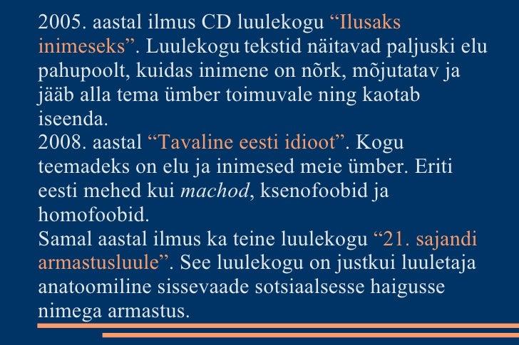 9a692af4f4f Jürgen Rooste slaidiaesitlus Triinu Lomp