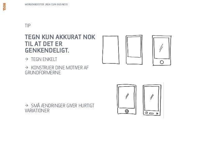 MORGENBOOSTER: JRGN CLVN BUSINESS  TEGN SÅ ENKELT SOM  MULIGT (BRUG  GRUNDFORMER):  > SMARTPHONE  > LAPTOP – SET FORFRA  >...