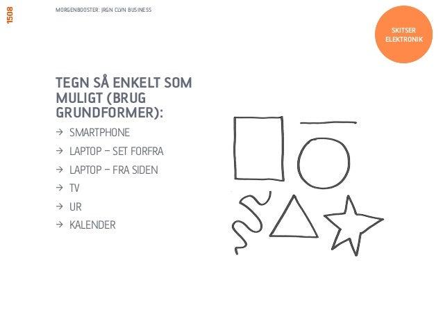 MORGENBOOSTER: JRGN CLVN BUSINESS  LÆG SKYGGER  1. START MED EN TYND  STREG  2. TILFØJ SKYGGEN  TEGN  KNAPPER