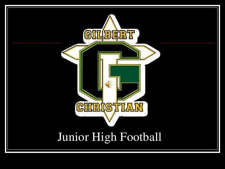 Junior High Football<br />