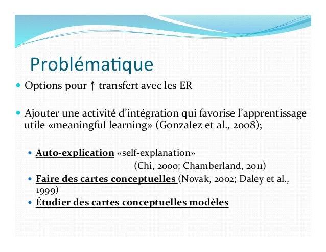 Objec)f   — Vérifier    entre:   — l'auto-‐explication  par  écrit,     — la  construction  de ...