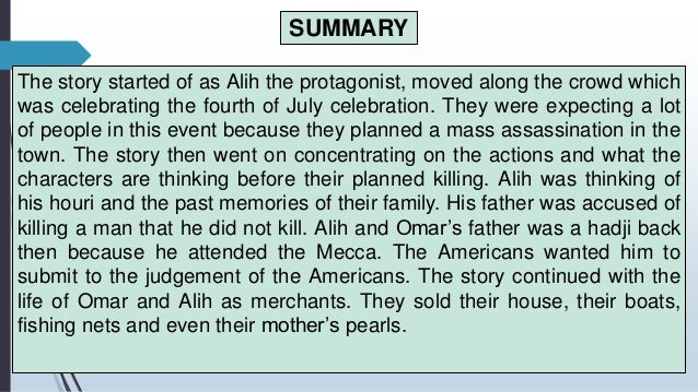 the white horse of alih summary