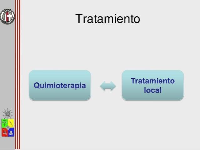 Quimioterapia • Metástasis a distancia – Identificadas o no • Aumenta sobrevida (10%  60 – 70%) • Adyuvante y neoadyuvant...