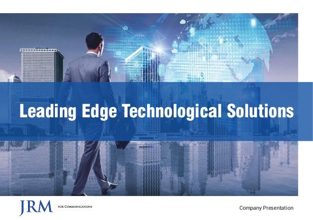Leading Edge Technological Solutions Company Presentation