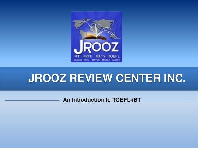 TOEFL Test Overview