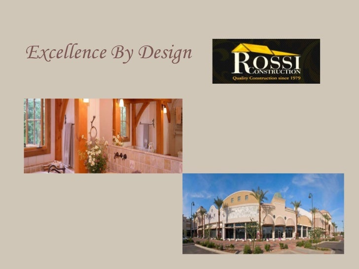 Excellence By Design