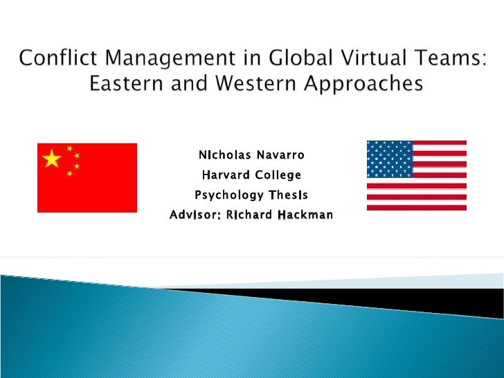 Nicholas Navarro Harvard College Psychology Thesis Advisor: Richard Hackman