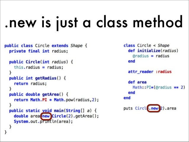 .new is just a class method