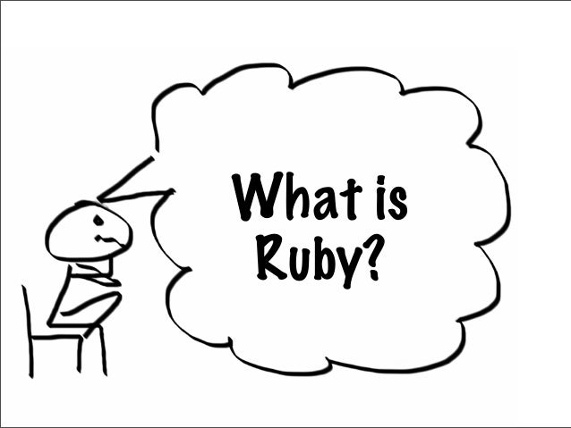 What isRuby?