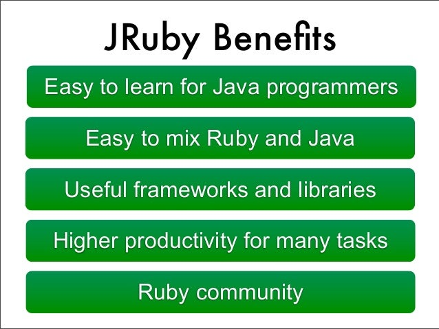 JRuby - Programmer's Best Friend on JVM