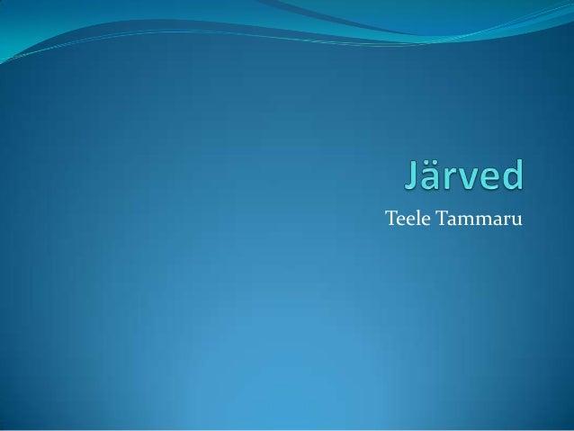 Teele Tammaru
