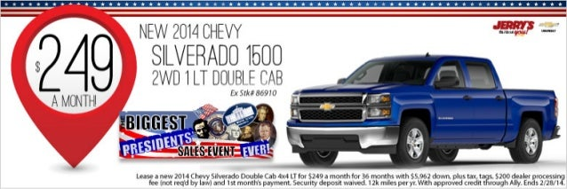 2014 Chevy Silverado at Jerrys Chevrolet in Baltimore ...