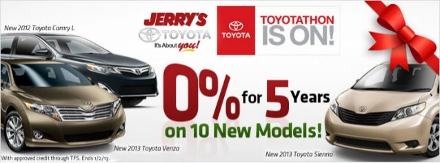 Toyotathon at Jerry's Toyota in Baltimore, Maryland