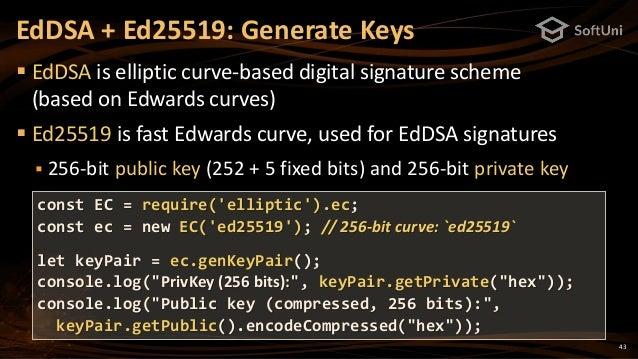 Cryptography for JavaScript Developers - Nakov @ JS Talks() 2018