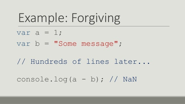 Solving Business Problems with JS++ Slide 3