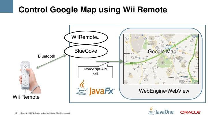 Control Google Map using Wii Remote                                                                             WiiRemoteJ...