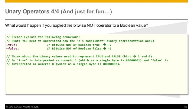 JavaScript for ABAP Programmers - 3/7 Syntax