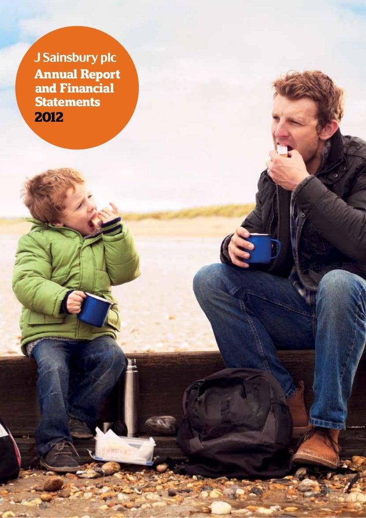 Annual Reportand FinancialStatements2012